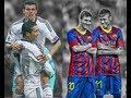 Bale and Cristiano Ronaldo vs Neymar and Messi