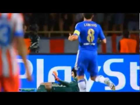 Chelsea vs Atletico Madrid 1-4 FALCAO All goals Highlights UEFA Super Cup 2012