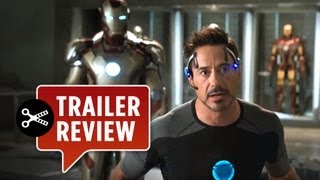 Instant Trailer Review - Iron Man 3 OFFICIAL TRAILER (2013) Marvel Movie HD