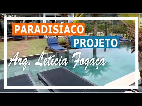 Lindo e Paradisíaco Projeto Desenvolvido Pela Arquiteta Letícia Fogaça no Litoral Catarinense