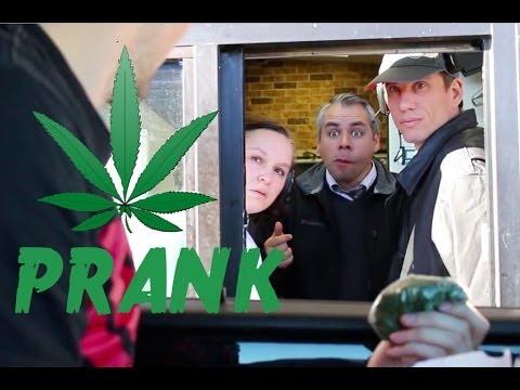 Drive Thru Marijuana Prank