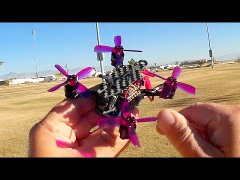 Arfun Pro 95mm Micro FPV Racer Drone Flight Test Review - UC90A4JdsSoFm1Okfu0DHTuQ