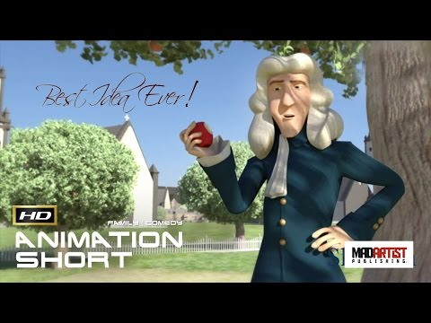 Best Idea Ever (HD) Newton didn-t find gravity. AWESOME 3d Film by Arpan Jolly (Sheridan college)