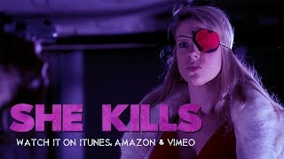 "Grindhouse Movie; ""She Kills"" Trailer, Sadistic Exploitation Grindhouse Revenge Movie!"