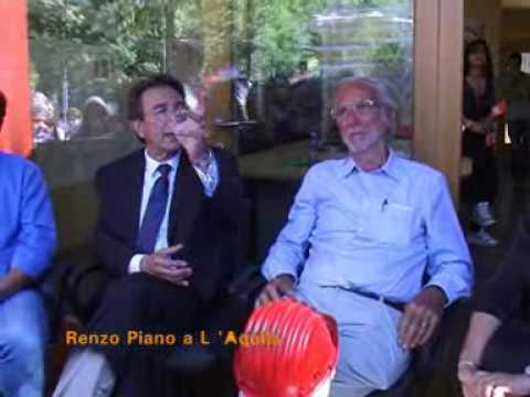 Renzo Piano a L'Aquila