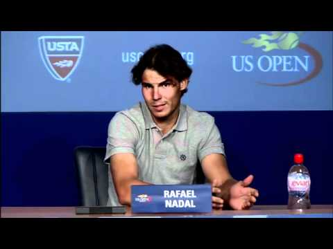 2011 US Open Press Confereces: Rafael Nadal (Third Round)