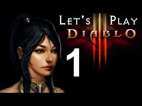 Diablo 3 Beta - Wizard Let-s Play: WiccanLady (Exploration) - Part 1