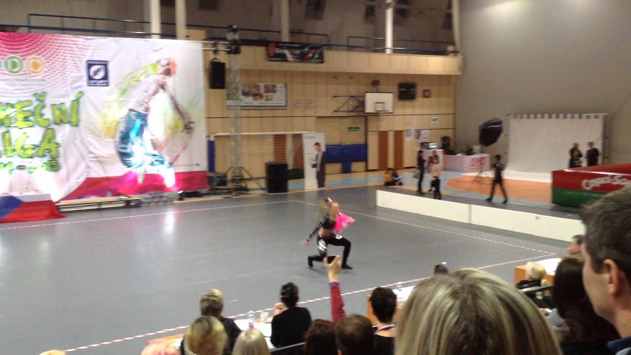 Mistrovství ČR disco dance sólo Anet 2015