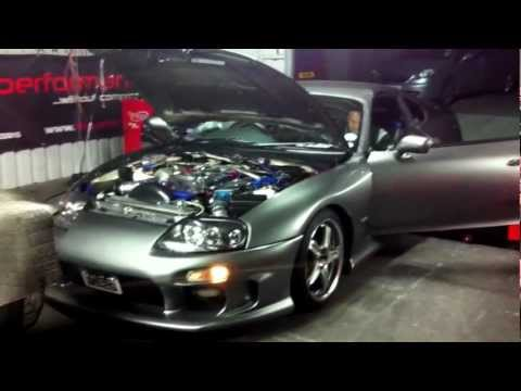 Supra T51R on Dynapack 4th gear