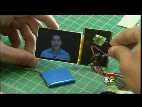 Americhip-s NEW Video-in-Print technology as featued on KCBS TV2