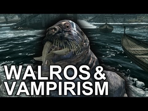 "Skyrim - A Vampire & his Walrus ""Viking Commentary"""