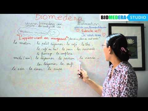 Bài 39: Một số từ vựng về bữa ăn và món ăn trong tiếng Pháp - L'appétit vient en mangeant