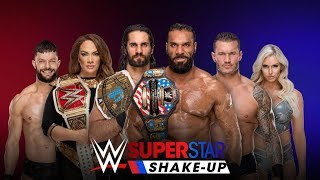 WWE Raw Superstar Shake-Up Live Reactions