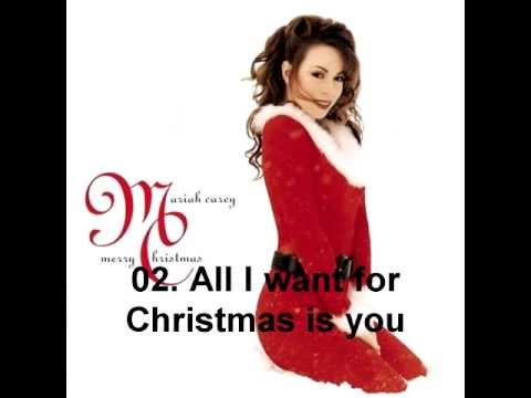 Mariah Carey- Merry Christmas (1994) - Full Album