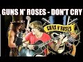Guns N' Roses - Don't Cry (Guitar Percussion Cover)