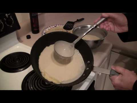 How to make Hungarian Crepes with Peter Vamos