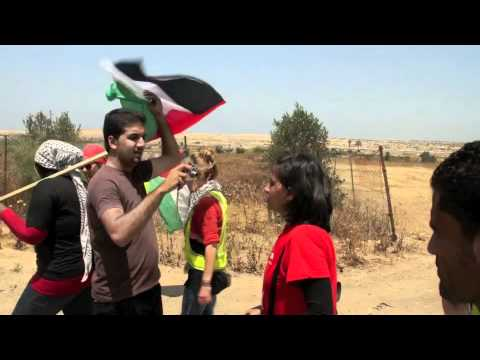 Weekly Beit Hanoun non-violent demonstration met with live gunfire, shrapnel injury