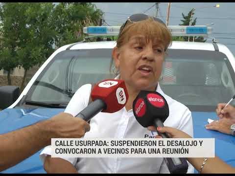 Calle usurpada II: La comuna suspendió el desalojo