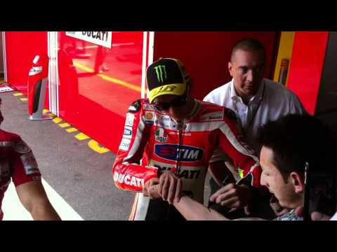 Incontro con Valentino Rossi, Mugello 02-07-2011
