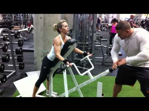 Women Fitness Model Training: Back & Shoulder Exercises For Women