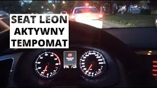 Seat Leon - działanie aktywnego tempomatu
