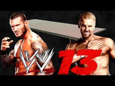 WWE 13 Online Match - Randy Orton vs Christian Tables match! (WWE TLC 2012 match card prediction)