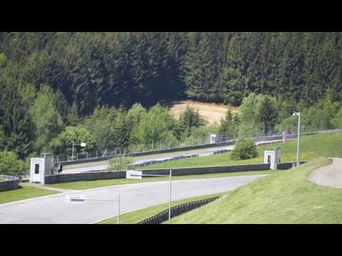 Toro Rosso Team Werbeaufnamen am Red Bull Ring