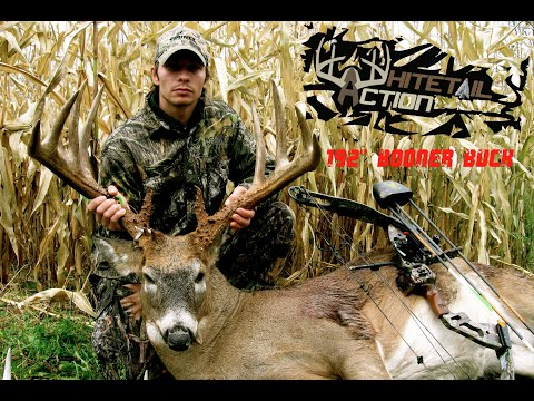192 Boone and Crockett buck with a bow(WhitetailAction 3 DVD)