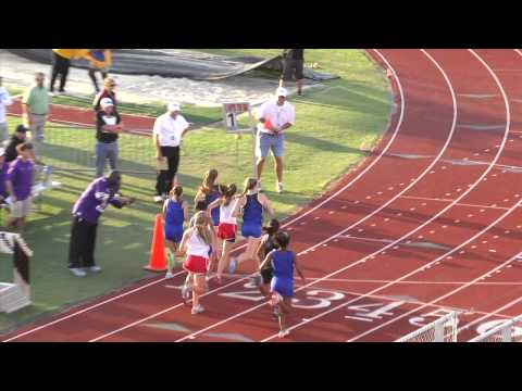 Region II-5A Girls 800 Meters