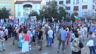 [Protest in Sofia 19.06.2013 in front of Parliament  in Full ...]