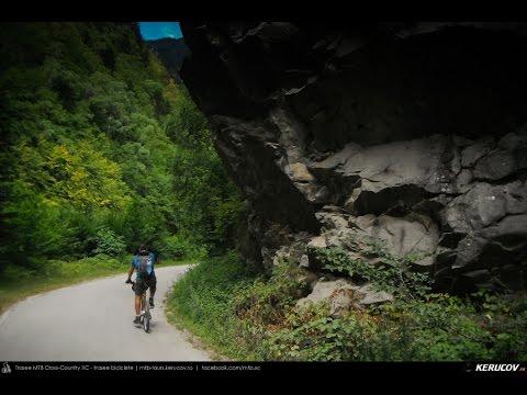 VIDEOCLIP Traseu cu bicicleta MTB Gara Lotru - Brezoi - Valea lui Stan - Malaia - Ciungetu - Petrimanu