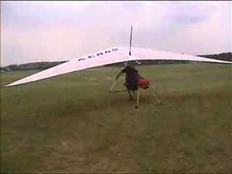 Jet powered Hang Glider