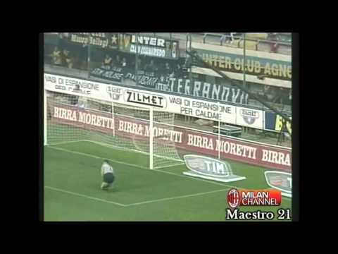 Inter 1-3 AC Milan 21-10-2001 [ 3 goals in 6 minutes ]