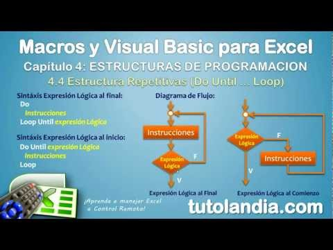 4.4.8 Estructura Do Until Loop: Curso de Macros y Visual Basic para Excel
