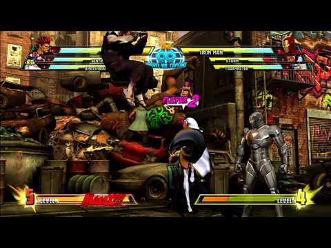 Marvel vs Capcom 3: Akuma Gameplay Montage