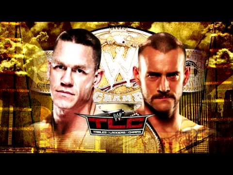 WWE TLC 2013 - CM Punk (c) vs John Cena - WWE Championship Tables Ladders & Chairs Match
