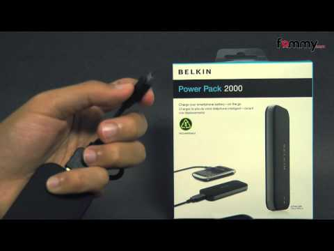 Belkin� 2000mAh Battery Pack with MicroUSB cable