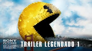 Pixels | trailer legendado | 23 de julho nos cinemas