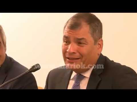 <b>&quot;Descarado&quot;.</b> Correa castigó a Durán Barba en Rosario