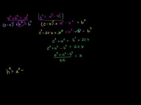 Parte 1 della Dimostrazione della Formula di Erone