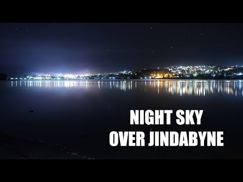 Night Sky over Jindabyne - Star Timelapse  - GoPro HERO4 Nightlapse Mode