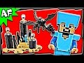 Lego Minecraft The ENDER DRAGON 21117 Stop Motion Build Review