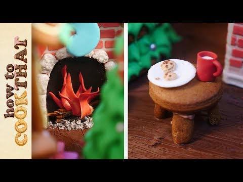 My Gingerbread House for 2018 How To Cook That Ann Reardon