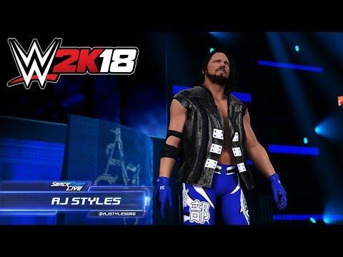 WWE 2K18: AJ Styles Smackdown Live Entrance & New Double Feature Replay Concept! - UCAeTKI3Zcv44VDqq0koHy7Q