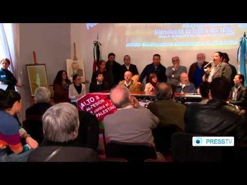 Argentina  condemn's Israeli  against Palestinians in (Gaza)   7/16/14