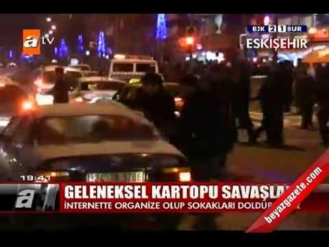 Öğrencilerin Kartopu savaşı Kameralarda (Eskişehir Mobese 2012)