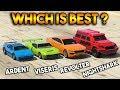 GTA 5 ONLINE : NIGHTSHARK VS VISERIS VS REVOLTER VS ARDENT (WHICH IS BEST?)