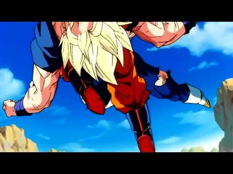 Dragonball Z, - SSJ2 Goku vs Majin Vegeta (ULTIMATE FIGHT SCENE) (FULL1080p)