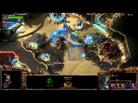 Starcraft 2: Heart of the Swarm - No Commentary Walkthrough 1080p HD Mission 6