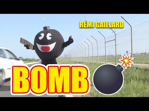 Trolling airport security dressed as a bomb